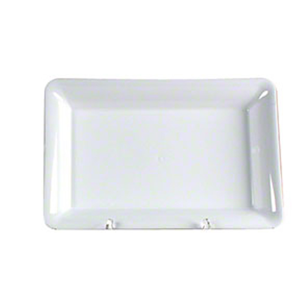 "Comet White 14""x10"" Rectangular Tray A1410WH"