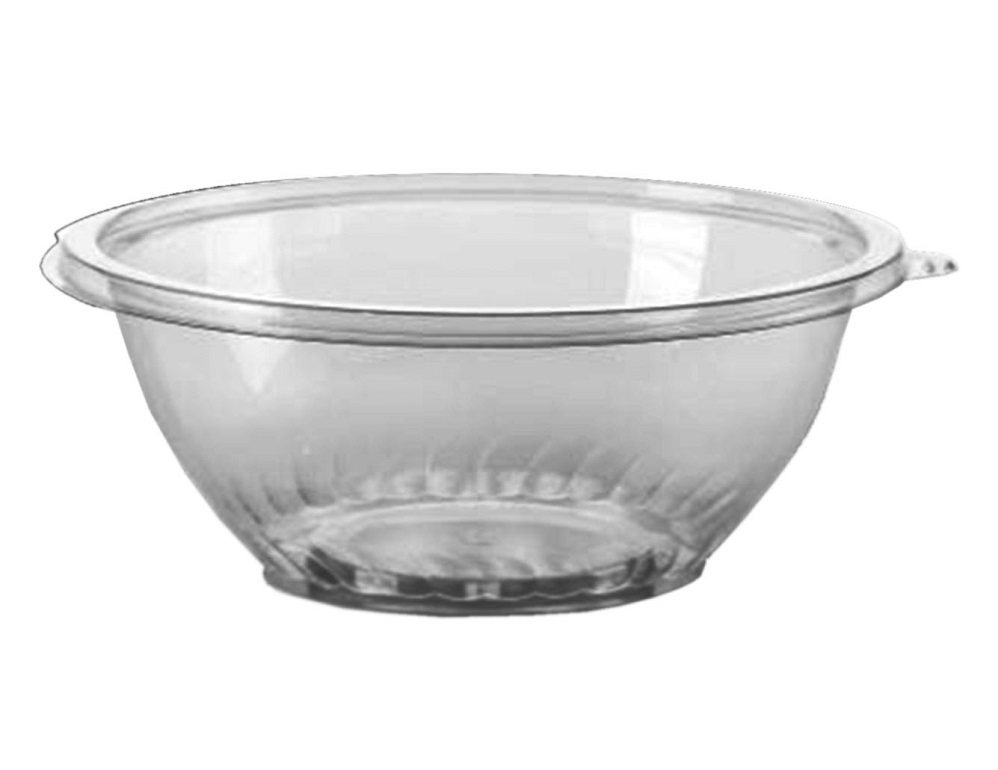 Comet Clear 48oz Plastic Pet Bowl APB48CL