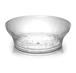 Fineline Settings - Savvi Serve Clear 10 oz. Plastic Bowl 311
