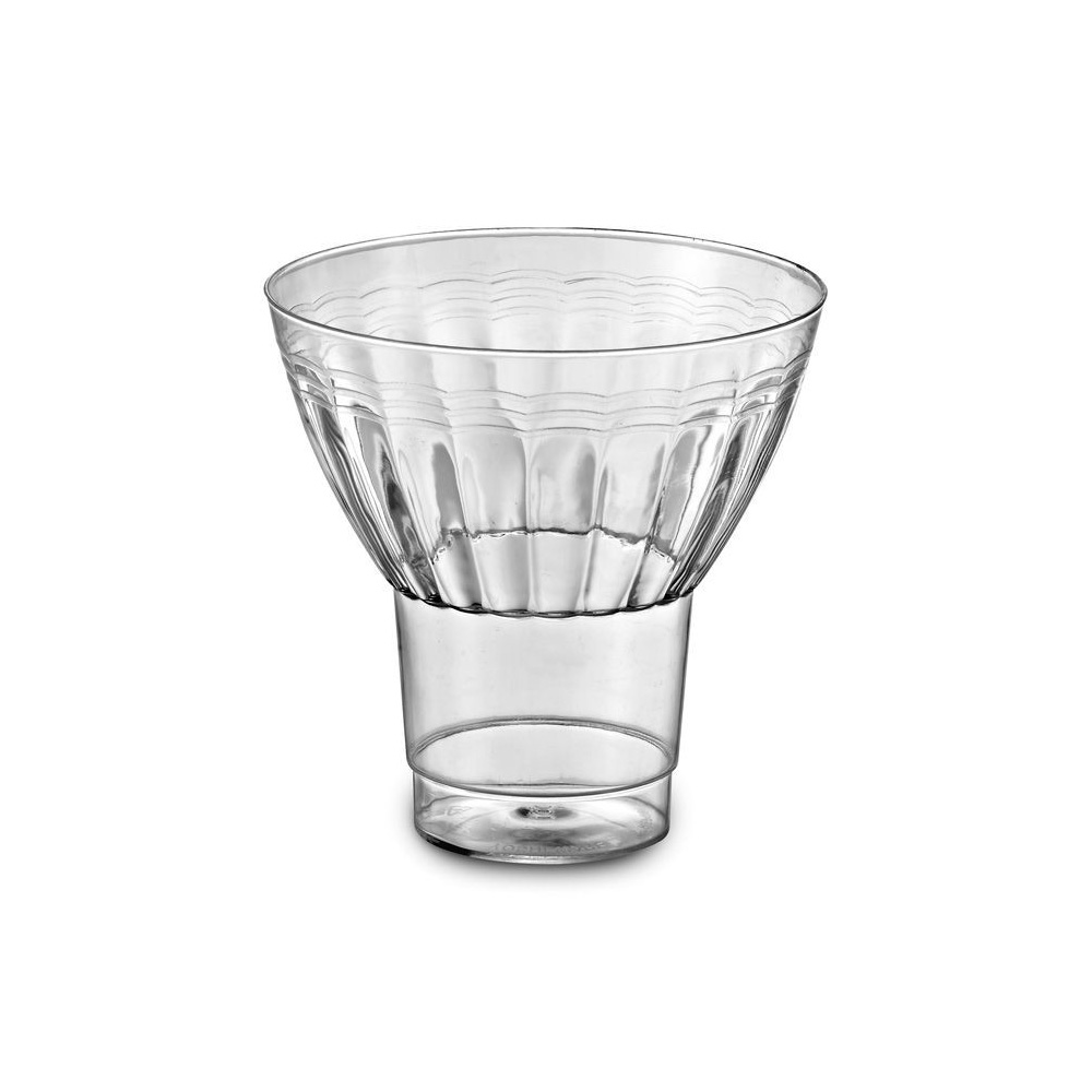 EMI Yoshi Inc. - Resposables Clear 9 oz. Plastic Parfait Glass EMI-REPG9
