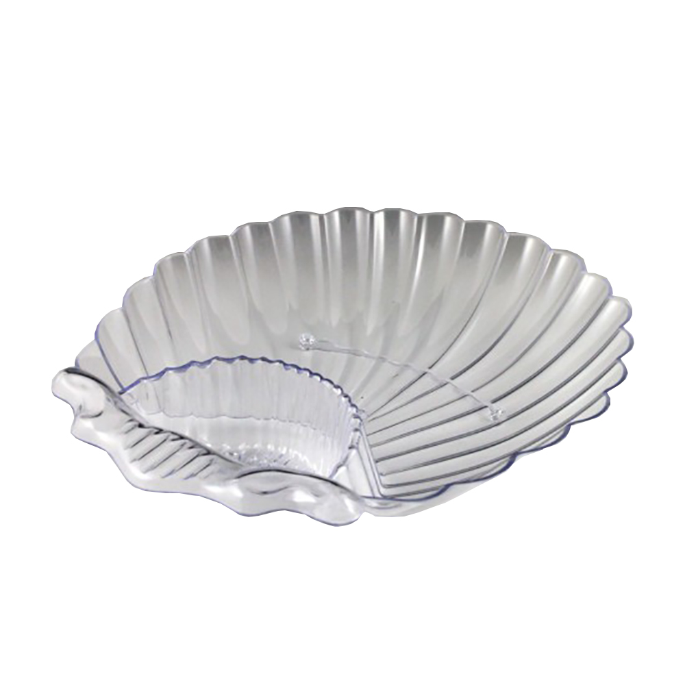 Maryland Plastics Clear Large Sovereign Shell DishMPI03996