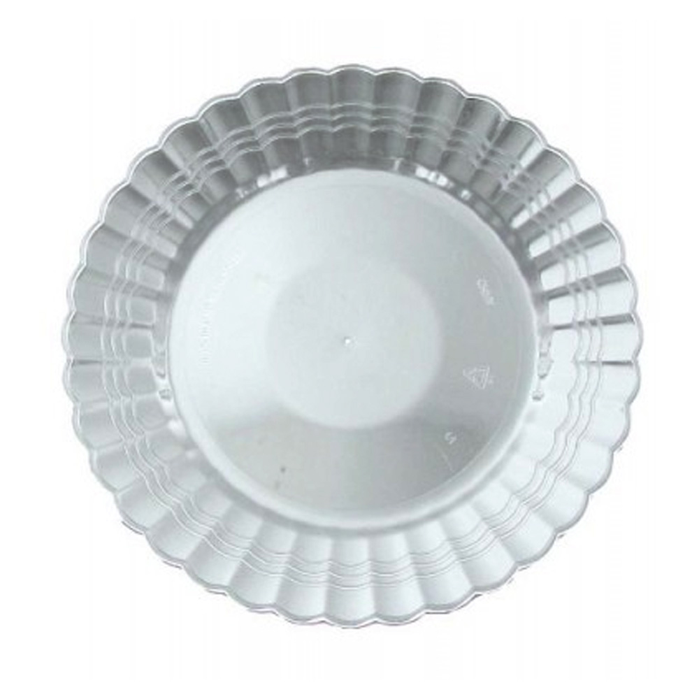 "EMI Yoshi Inc. - Resposables Clear 10.25"" Plastic Dinner Plate EMI-REP10"