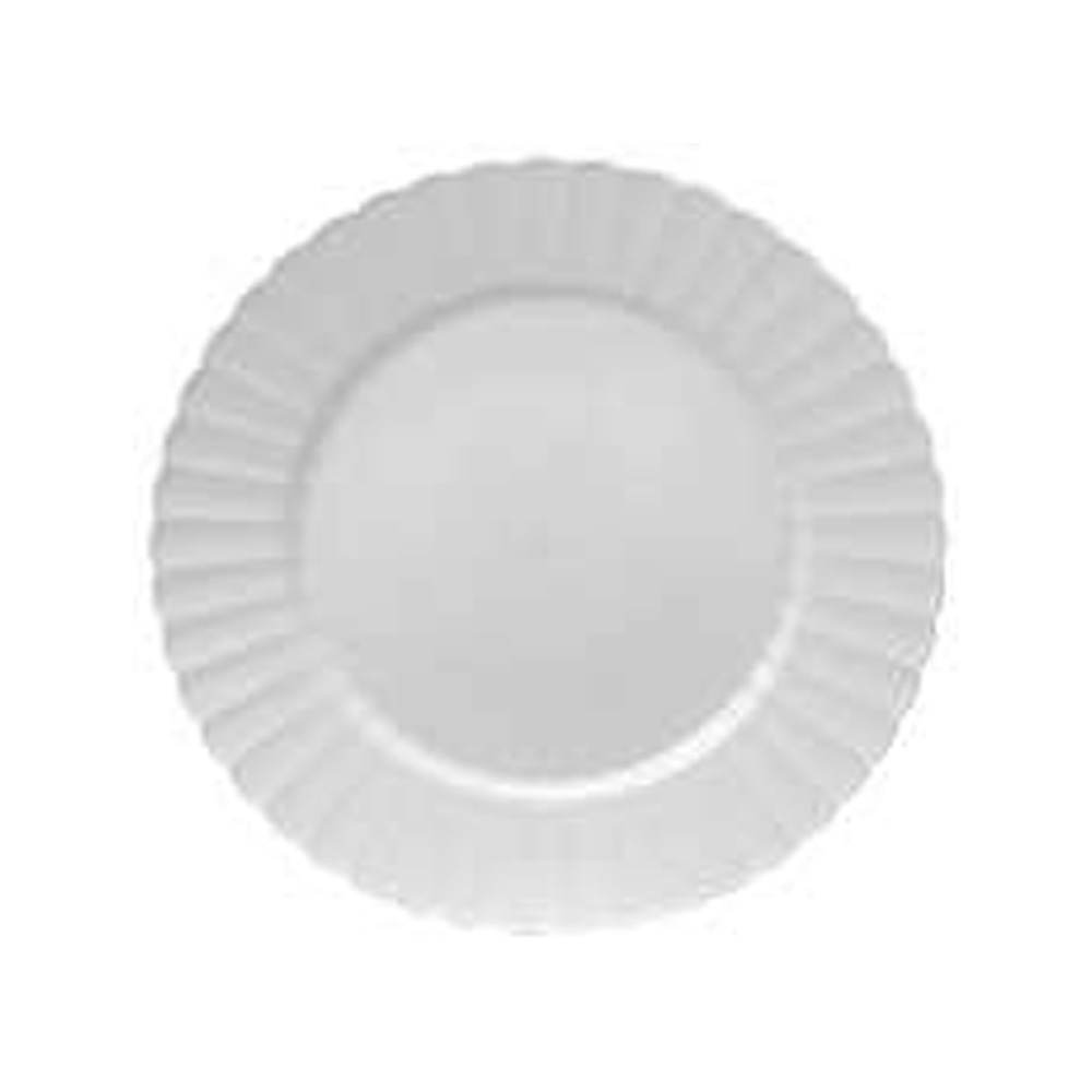 "EMI Yoshi White 10.25"" Resposable Dinner Plate EMI-REP10W"
