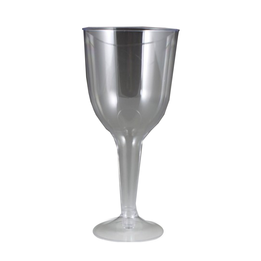 Maryland Plastics Inc. - Newbury Clear 10 oz. Plastic Wine Glass NC20116