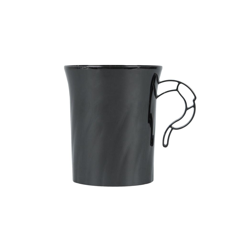 WNA - Classicware Black 8 oz. Coffee Mug CWM8192BK