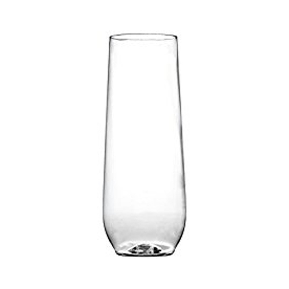 Fineline Settings - Renaissance Clear 10 oz. Plastic Stemless Flute 2710