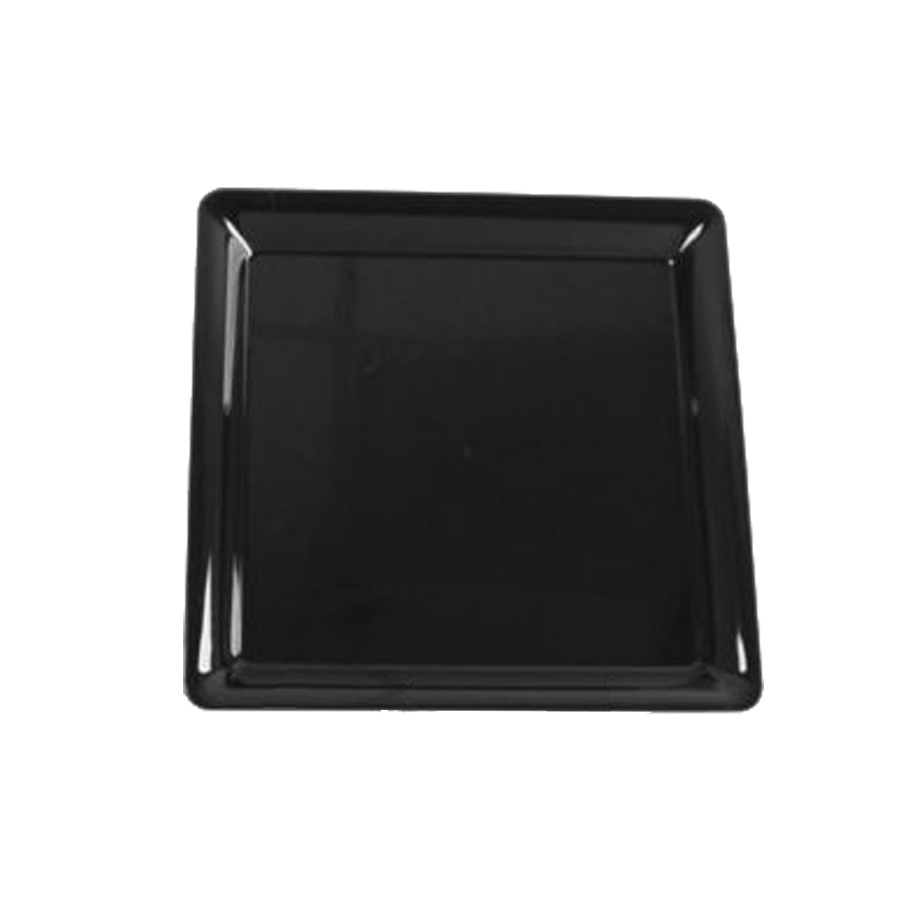 "Comet Black 16""x16"" Square Tray A1616BL"