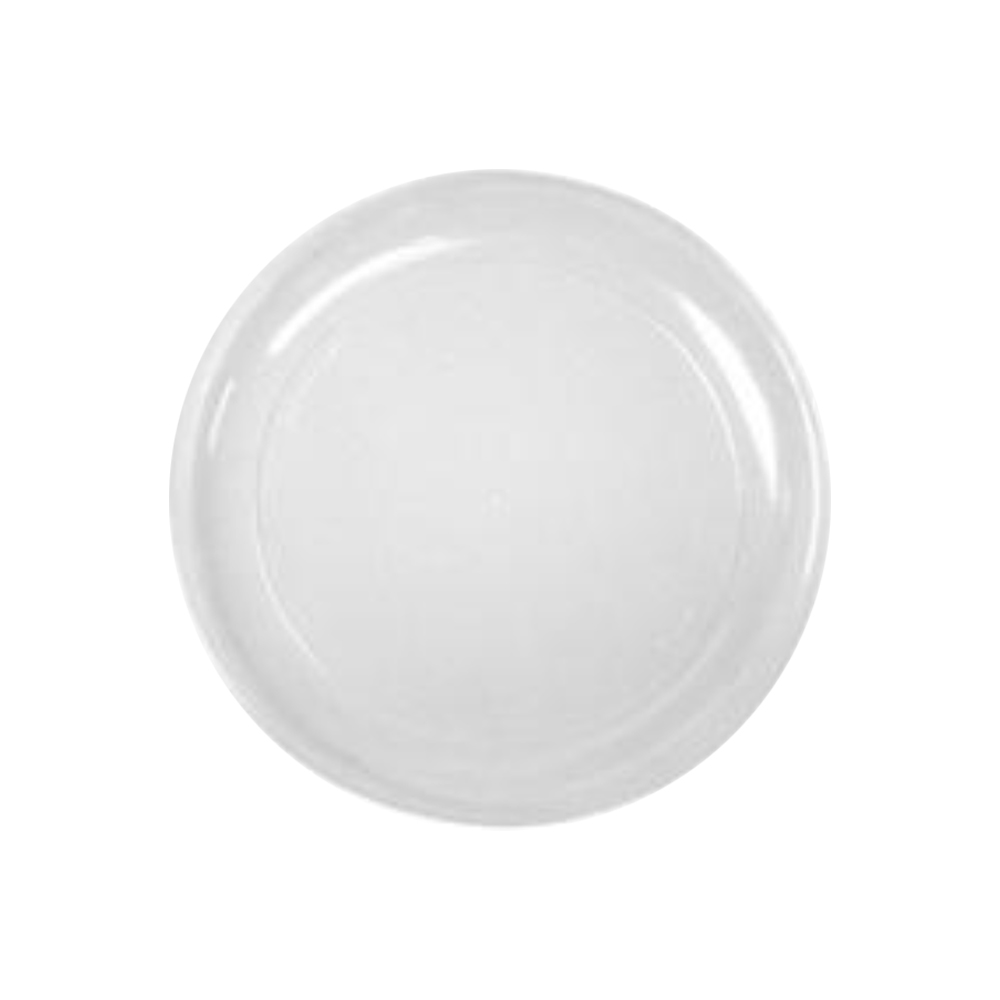 "Comet Clear 9"" Round Plastic Plate RP9"