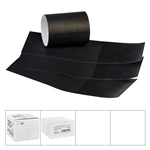"Lapaco Paper Products - Black 1.5""x4.5"" Napkin Band 320-002"