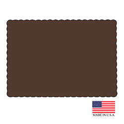"Superior Brown 10""x14"" Placemat PM149"