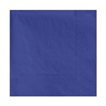 Hoffmaster - Navy Beverage Napkin 9.5X9.5 2 Ply   1/4 Fold Paper 180322