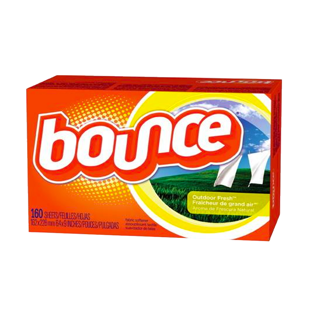 "Procter & Gamble - Bounce 6.4""x9"" 160 Count Fabric Softener Sheets PGC80168"