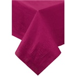"Hoffmaster Burgundy 54""x54"" 2ply Cellutex Table Cover 220424"