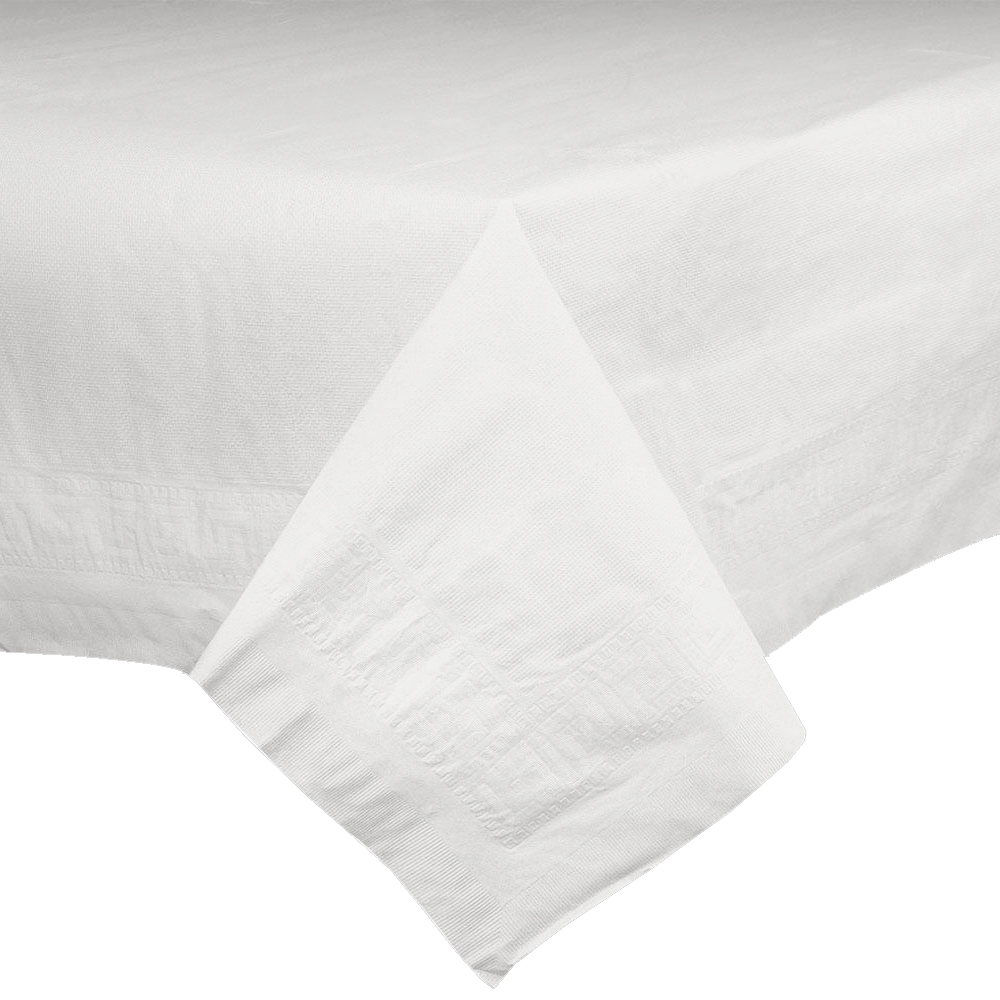 "Innoware White 82""x82"" Table Cover 289916"