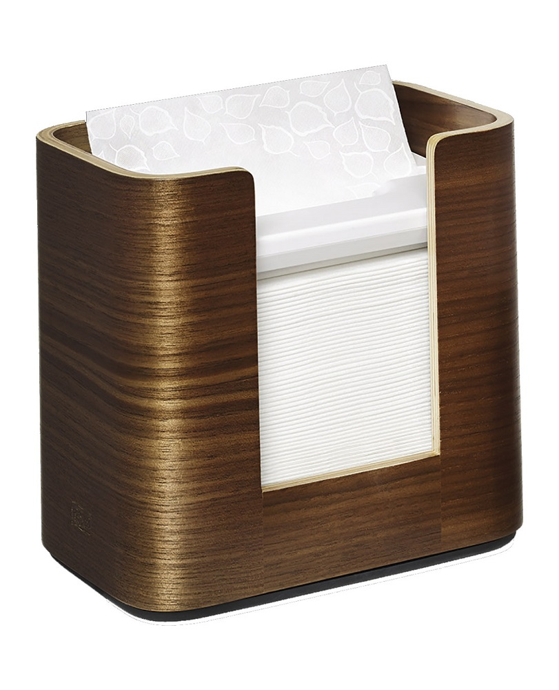 SCA Walnut Tork Xpressnap Napkin Dispenser 72900