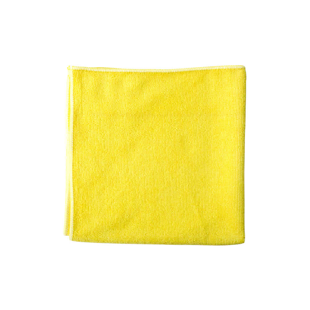 "Unger Yellow 16""x15"" Microfiber Cloth MF40J"