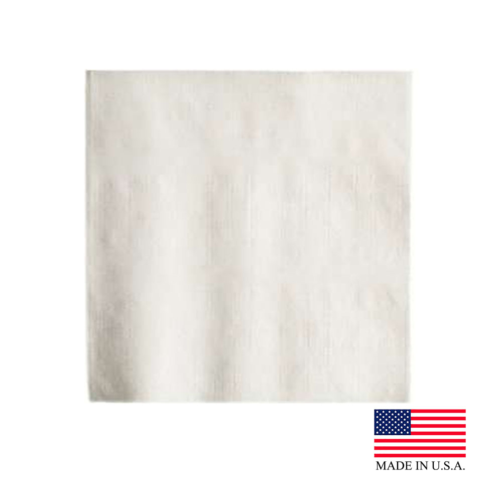 "Georgia Pacific White 9.5""x9.5"" 1ply Beverage Napkins 96019"