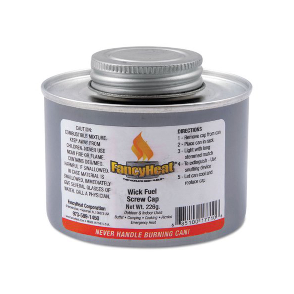 Fancy Heat 4 Hour Screwcap Wick Fuel Canister 17700-F715