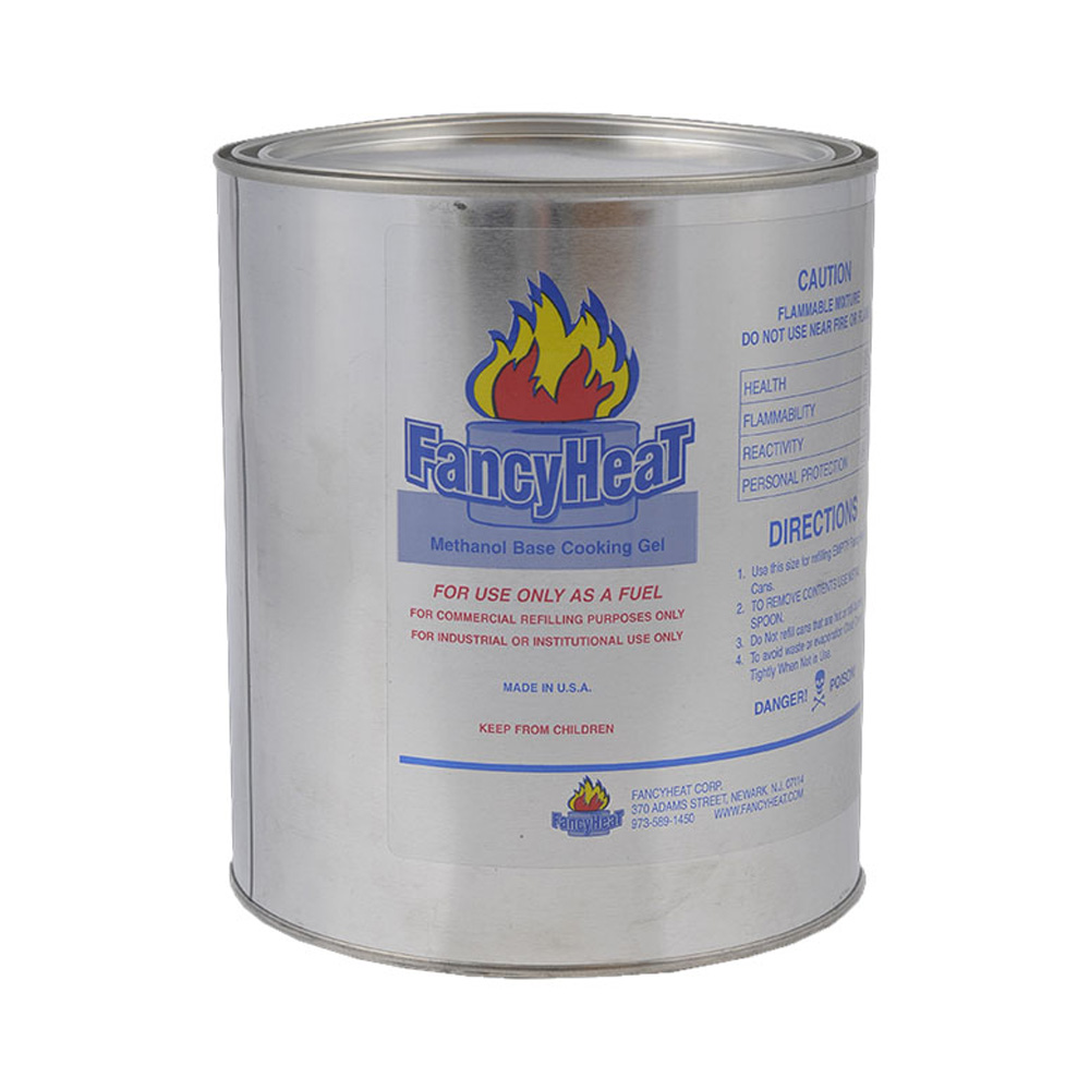 Fancy Heat/G.J Chemical - 1 Gallon Methanol Blue Chafing Fuel 17800-F825