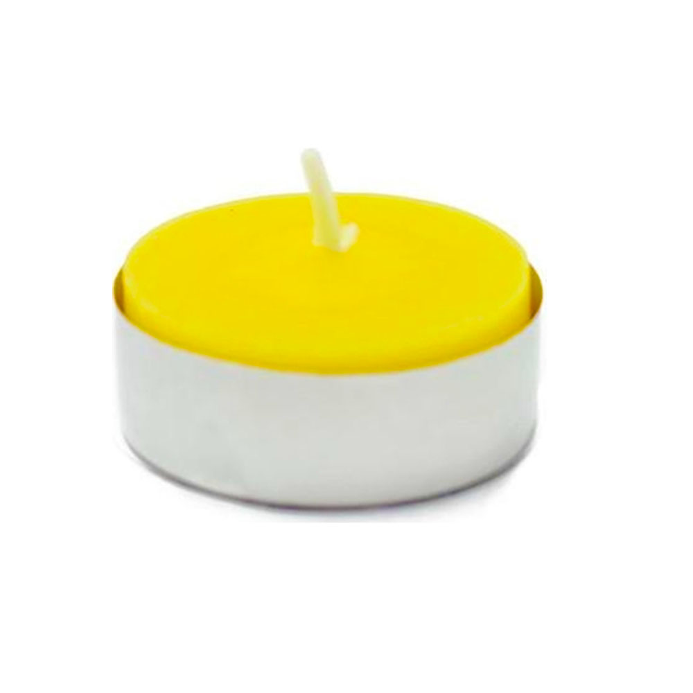 Fancy Heat Cirtonella Scent Fancy Lite Disposable Tea Lite Candle F485CIT