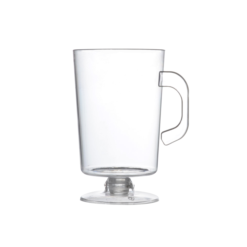 Fineline Settings Clear 2oz Plastic Espresso Mug  6416