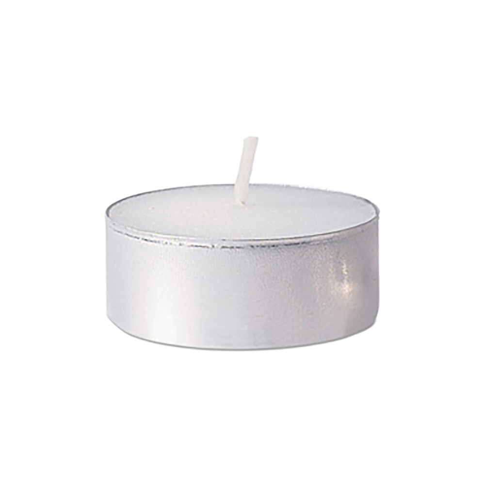 Fancy Heat Vanilla Scent Fancy Lite Disposable Tea Lite Candle F495V
