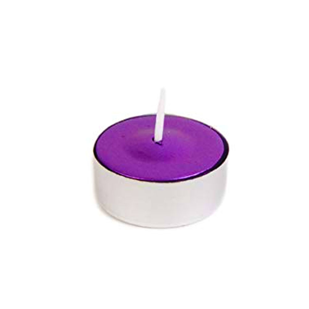 Fancy Heat Lavender Scent Fancy Lite Disposable Tea Lite Candle F495SL