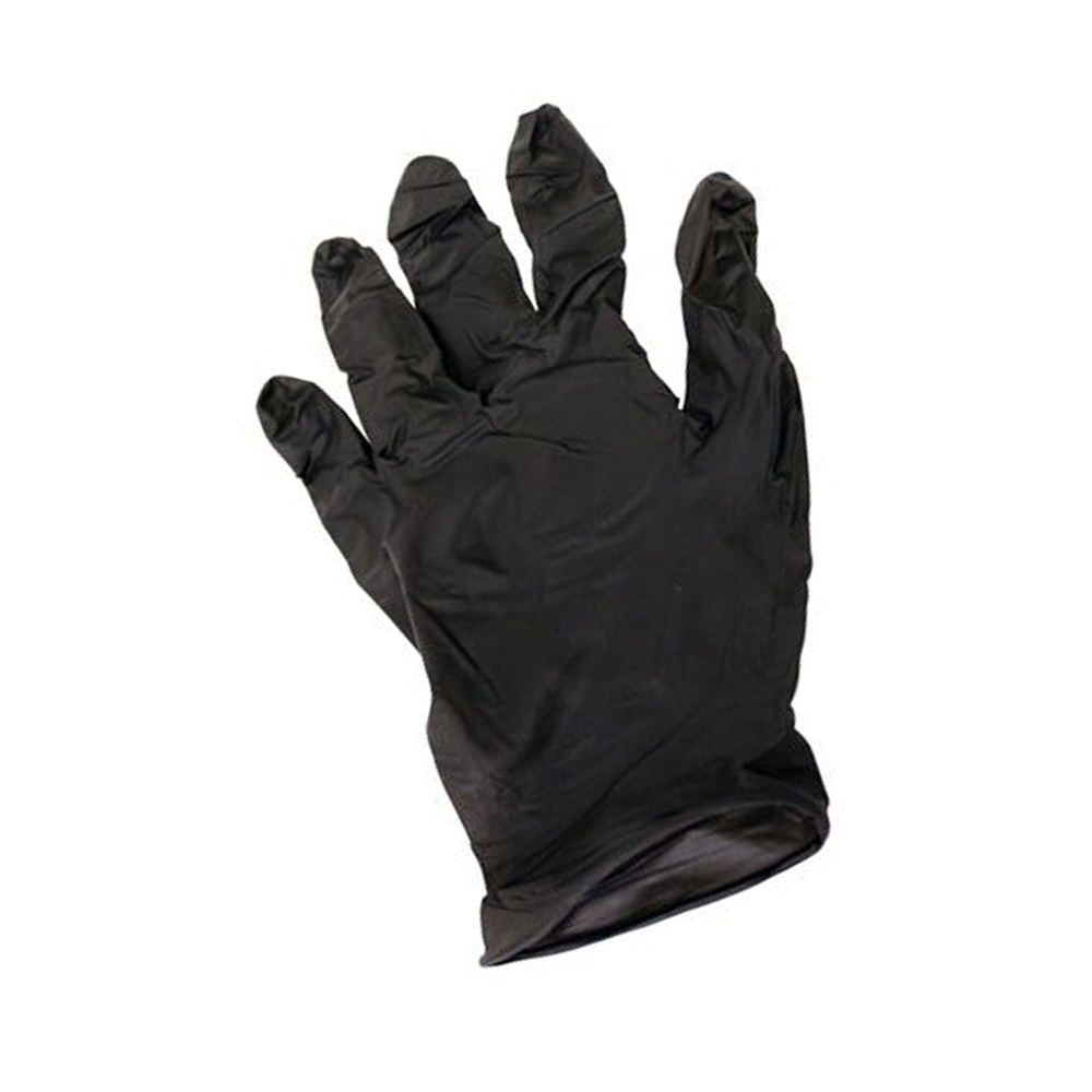 Impact Products Inc. - Black Extra Large Powder Free Nitrile Gloves 8642XL