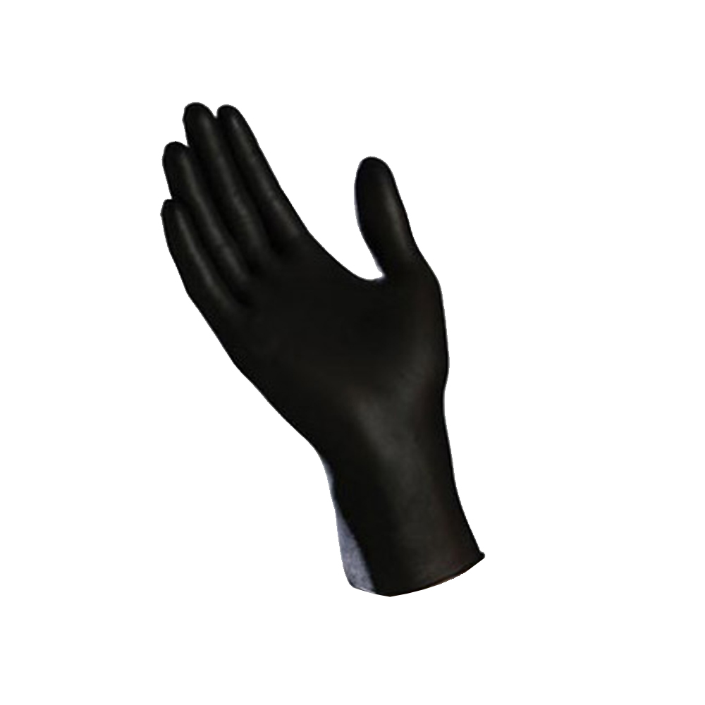 Tradex Intl. - Ambitex Black Small Powder Free Nitrile Exam Glove NSM200BLK