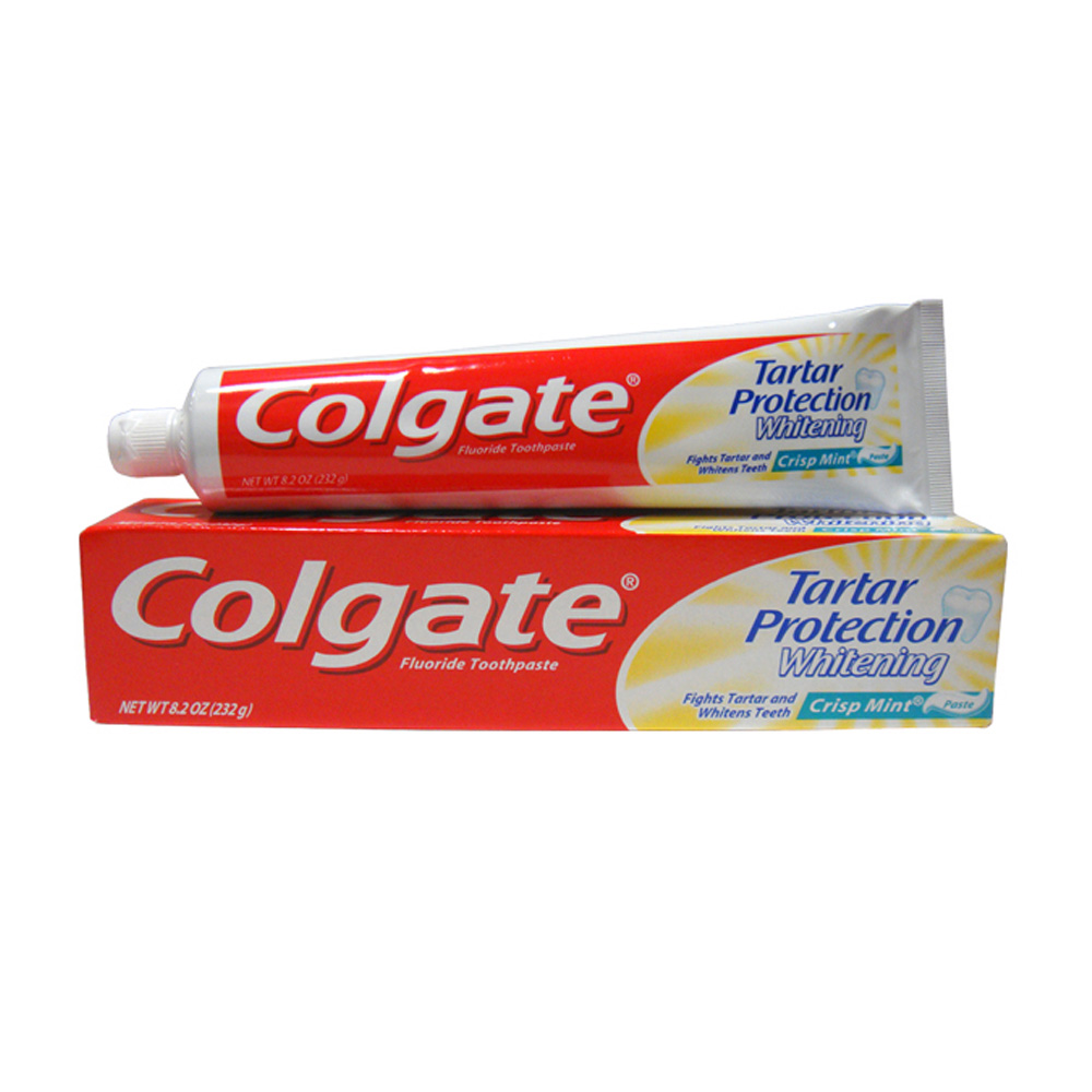 Colgate/Palmolive 8oz Toothpaste Crisp Mint Tartar Protection Whitening COL82TCP